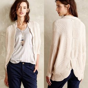 Sunday in Brooklyn Scalloped Cocoon Cardigan